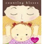 libro in inglese spagnolo e francese per bambini counting kisses di karen katz