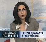 letizia quaranta di Bilingue per gioco su class tv small