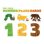 eric carle numbers flashcards