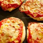 Pizzette Margherita - La Femme du Chef.001