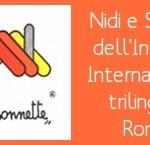 Nidi e materne trilingui a Roma: un incontro giovedì 23 Giugno