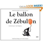Le ballon de Zébulon, Libro in Francese
